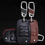 Leder Schlüssel Cover passend für Kia Schlüssel K3