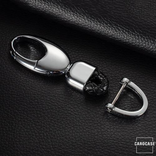 Leder Schlüsselanhänger, inkl. Karabiner