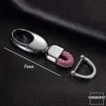 Karabiner Schlüsselanhänger passend für die Etui-Serie SEK3, schwarz