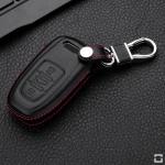 Leder Cover Audi schwarz LEK48-AX1