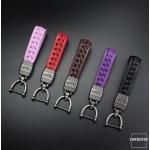 Schlüsselanhänger Lederband mit Karabiner SAR3