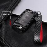 Carbon-Look Cover passend für Volkswagen, Audi,...