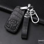 KROKO Leder Schlüssel Cover passend für Audi...