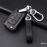 KROKO Leder Cover passend für Volkswagen, Audi,...