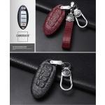 KROKO Leder Schlüssel Cover passend für Nissan...
