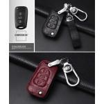 KROKO Leder Schlüssel Cover passend für Hyundai Schlüssel  LEK44-D5