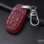 KROKO Leder Schlüssel Cover passend für  Schlüssel  LEK44-D9