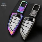 Alu Hartschalen Schlüssel Cover passend für BMW...