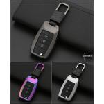 Alu Hartschalen Schlüssel Cover passend für Kia Autoschlüssel  HEK13-K3