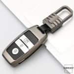 Alu Hartschalen Schlüssel Cover passend für Kia Autoschlüssel  HEK13-K7