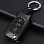Alu Schlüssel Hülle - Cover für Hyundai HEK13-D5