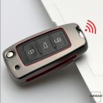 Alu Schlüssel Hülle - Cover für VW Seat Skoda HEK13-V2