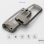 Alu Hartschalen Schlüssel Cover passend für Volkswagen Autoschlüssel  HEK13-V6