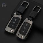 Alu Schlüssel Hülle - Cover für VW Seat...