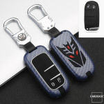 Nachleuchtende Schlüssel Cover passend für Jeep, Fiat Autoschlüssel  HEK20-J4