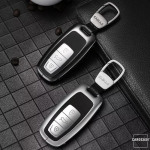 Premium Alu Schlüssel Case für Mercedes-Benz Autoschlüssel HEK12-AX7