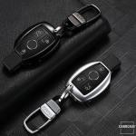 PREMIUM Alu Schlüssel Etui passend für Mercedes-Benz Autoschlüssel  HEK12-M7