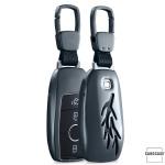 Premium Alu Schlüssel Case für Mercedes Autoschlüssel HEK12-M9