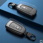 PREMIUM Alu Schlüssel Etui passend für Ford Autoschlüssel  HEK12-F8