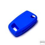 Silikon Schutzhülle / Cover passend für Volkswagen Autoschlüssel V8X, V8