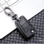 Carbon-Look TPU Cover für Volkswagen Skoda Seat...