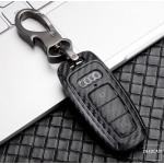 Carbon-Look TPU Cover für Audi Schlüssel HEK48-AX7-1