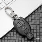 Carbon-Look TPU Cover für Mercedes Schlüssel...