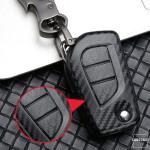 Carbon-Look Hartschalen TPU Schlüssel Cover passend...