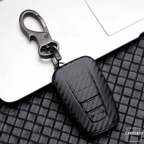 Carbon-Look TPU Cover für Toyota Schlüssel HEK48-T5-1