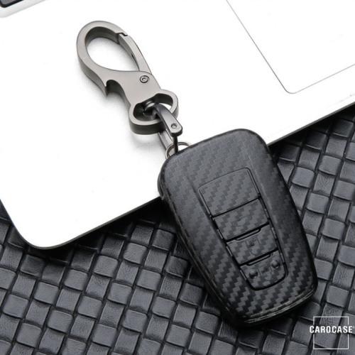 Carbon-Look TPU Cover für Toyota Schlüssel HEK48-T6-1