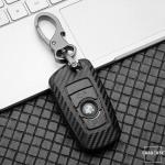 Carbon-Look TPU Cover für BMW Schlüssel HEK48-B4-1