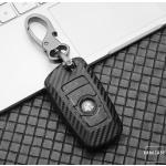 Carbon-Look TPU Cover für BMW Schlüssel HEK48-B5-1