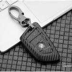 Carbon-Look TPU Cover für BMW Schlüssel HEK48-B7-1