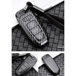 Carbon Look Schlüssel Cover passend für Audi...