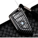Carbon Look Schlüssel Cover für Audi...