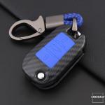 Hartschalen Etui Cover passend für Peugeot Schlüssel  HEK33-P3