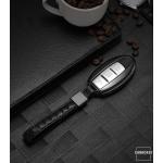 PREMIUM Alu Schlüssel Etui passend für Nissan Autoschlüssel  HEK12-N5