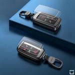 PREMIUM Alu Schlüssel Etui passend für Land Rover Autoschlüssel  HEK12-LR2