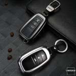 PREMIUM Alu Schlüssel Etui für Toyota Autoschlüssel HEK12-T5