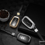 PREMIUM Alu Schlüssel Etui passend für Toyota Autoschlüssel  HEK12-T5