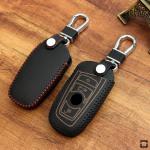 Leder Schlüssel Cover inkl. Karabinerhaken für...