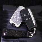 DIAMOND-GLOSSY Cover für Land Rover, Jaguar Schlüssel  HEK51-LR2