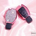 DIAMOND-GLOSSY Cover für Mercedes-Benz Schlüssel  HEK51-M7