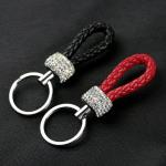Kristall mini Lederband - Schlüsselanhänger SAR53