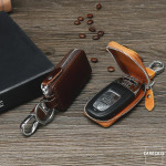 Leder Schlüsseletui passend für alle Autoschlüssel - STS22