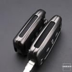 Schlüssel Cover mit Silikon Tastenabdeckung passend für VW Autoschlüssel HEK37-V3