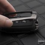 Schlüssel Cover mit Silikon Tastenabdeckung passend für Landrover & Jaguar Autoschlüssel HEK37-LR2