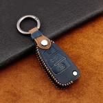 Premium Leder Cover passend für Audi Schlüssel + Anhänger  LEK60-AX3