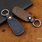 Premium Leder Cover passend für Audi Schlüssel...