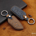 Premium Leder Cover passend für BMW Schlüssel +...